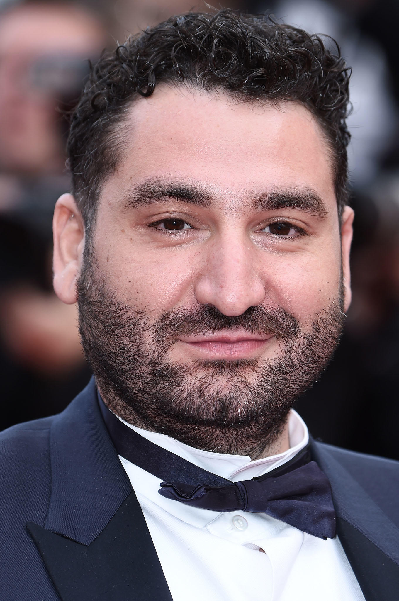 Mouloud Achour at the screening of