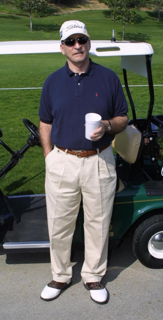 James B. Sikking at the 2nd Annual Mark & Brian Celebrity Golf Tournament.