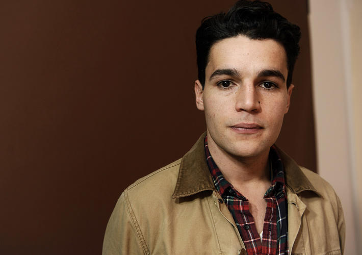 Christopher Abbott at the portrait session of