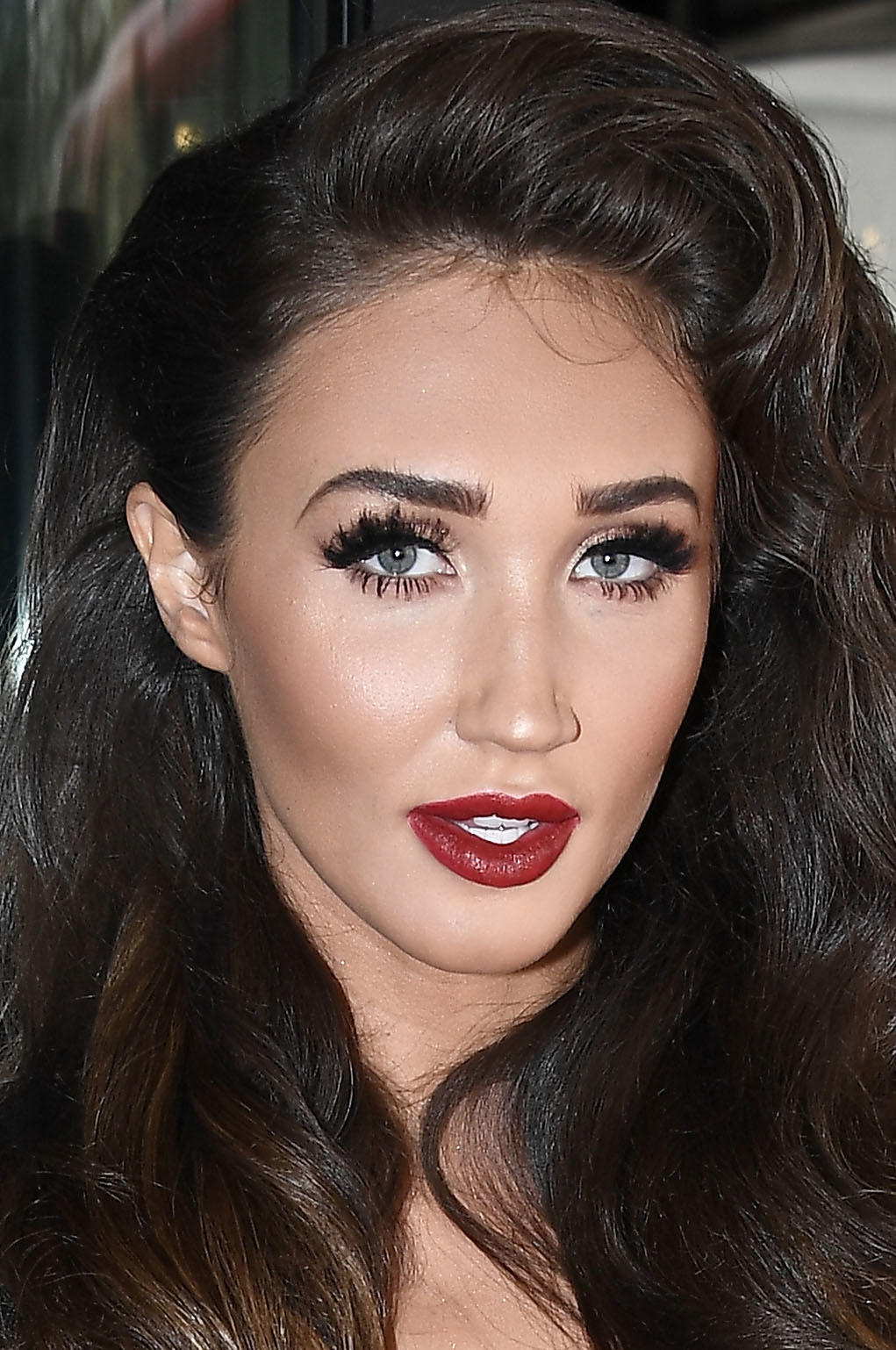 Megan McKenna at the TRIC Awards 2017 in London.