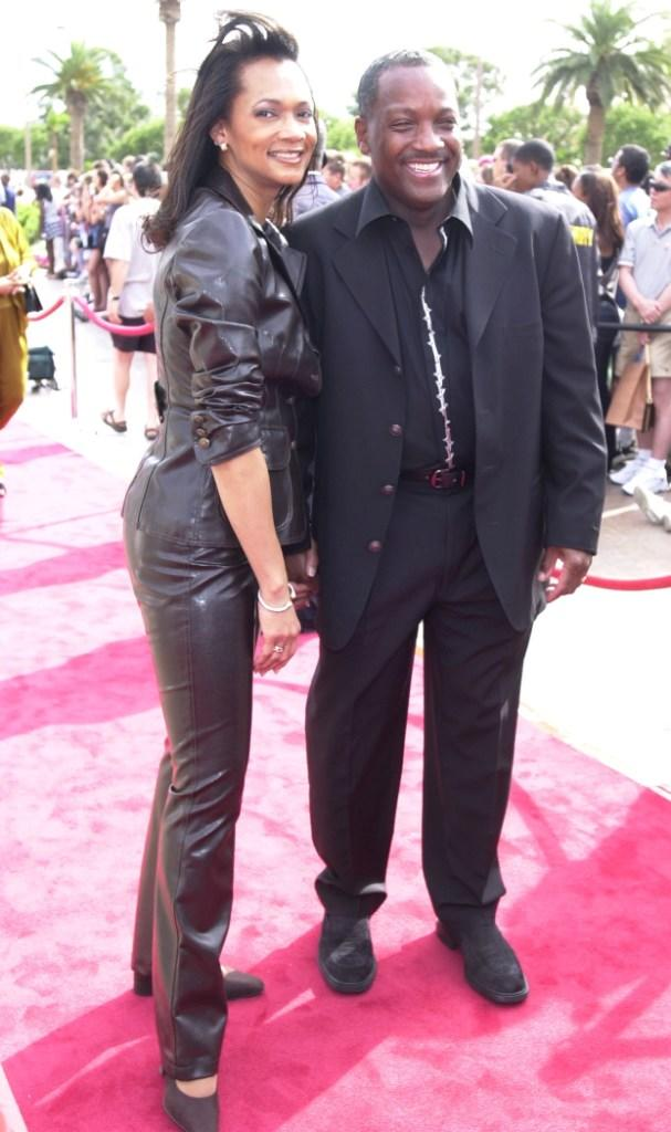 Pam and Donnie Simpson at the 20th Anniversary celebration of BET.