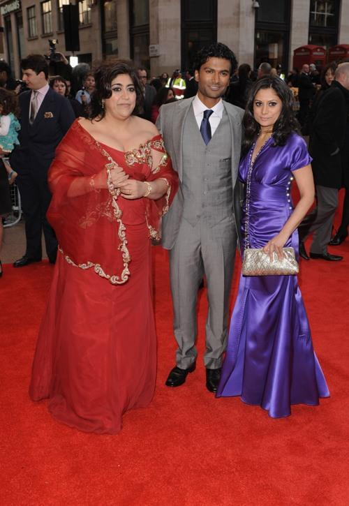 Gurinda Chadha, Sendril Ramamurthy and Goldy Notay at the UK premiere of
