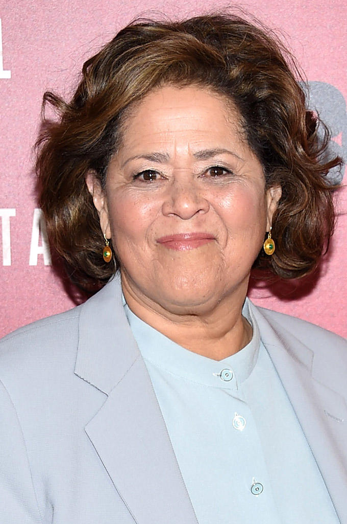 Anna Deavere Smith at the New York premiere of