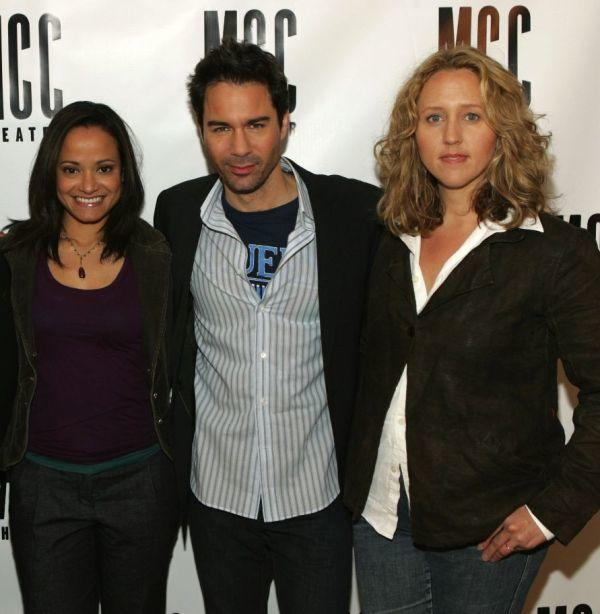 Judy Reyes, Eric McCormack and Brooke Smith at the Meet The Cast of
