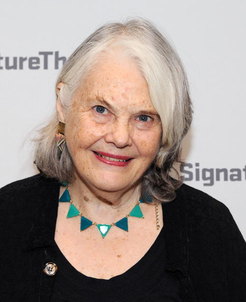 Lois Smith at the Opening Night party of