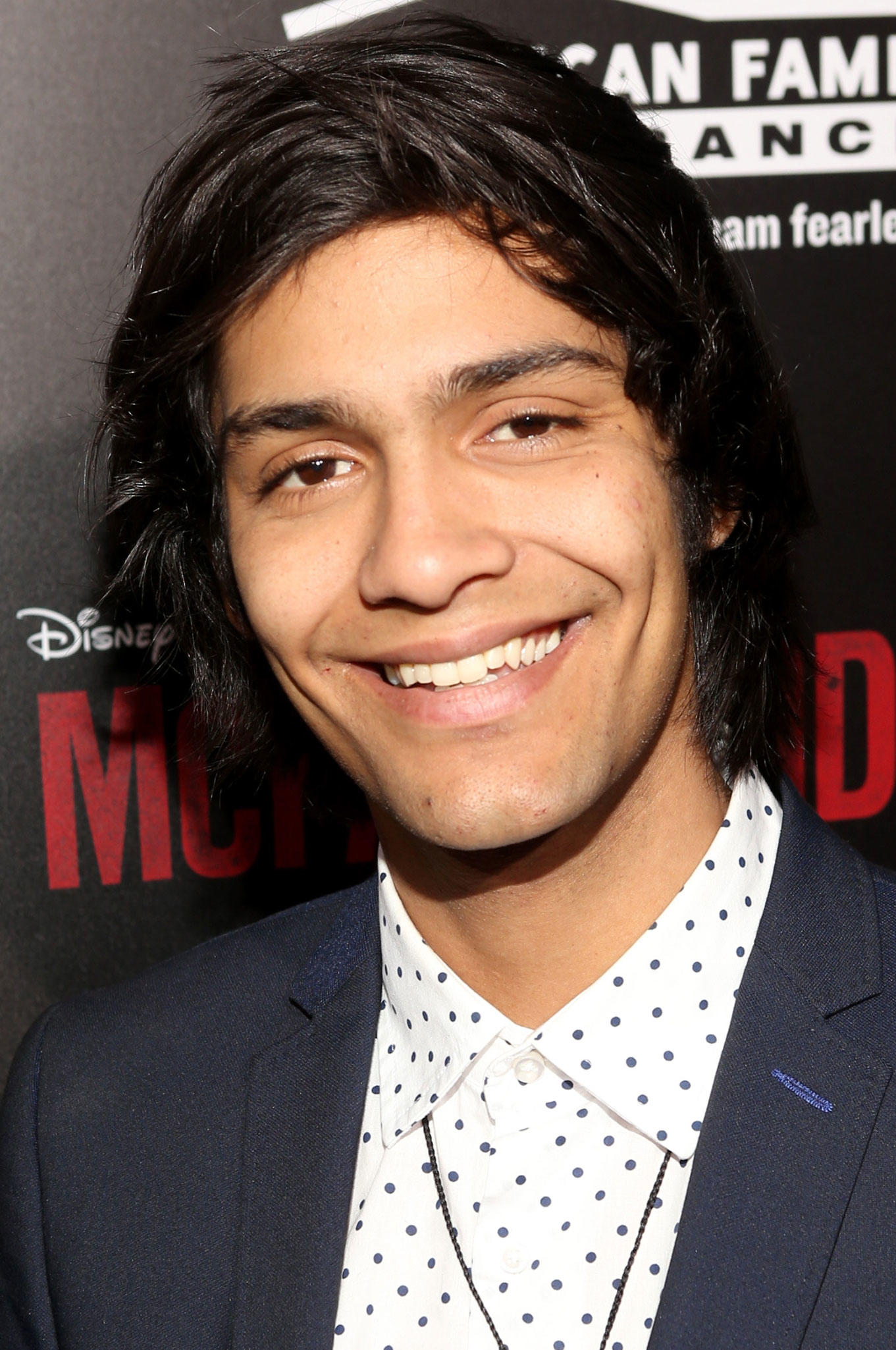 Miguel Aguero at the L.A. premiere of