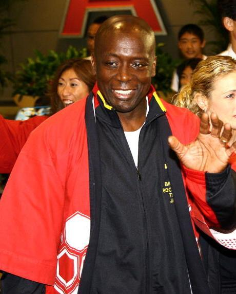 Billy Blanks at the New Tokyo International Airport.
