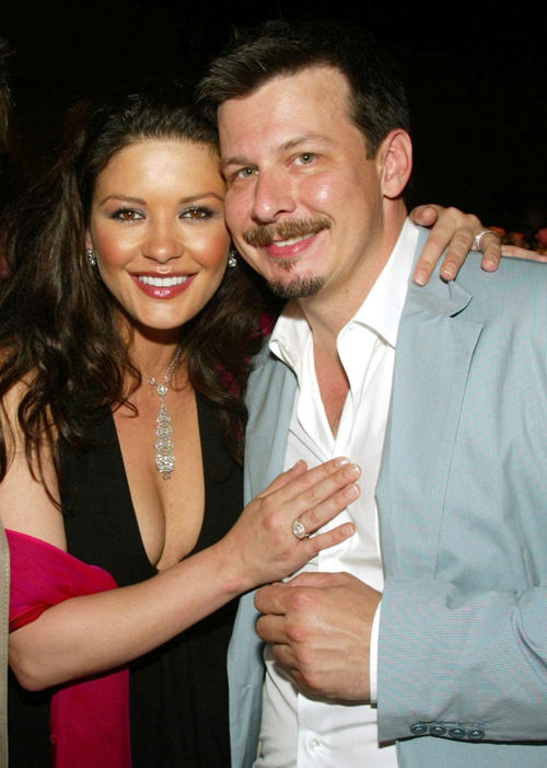 Catherine Zeta-Jones and Andrew Fleming at the after party of