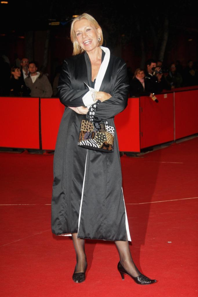 Catherine Spaak at the premiere of