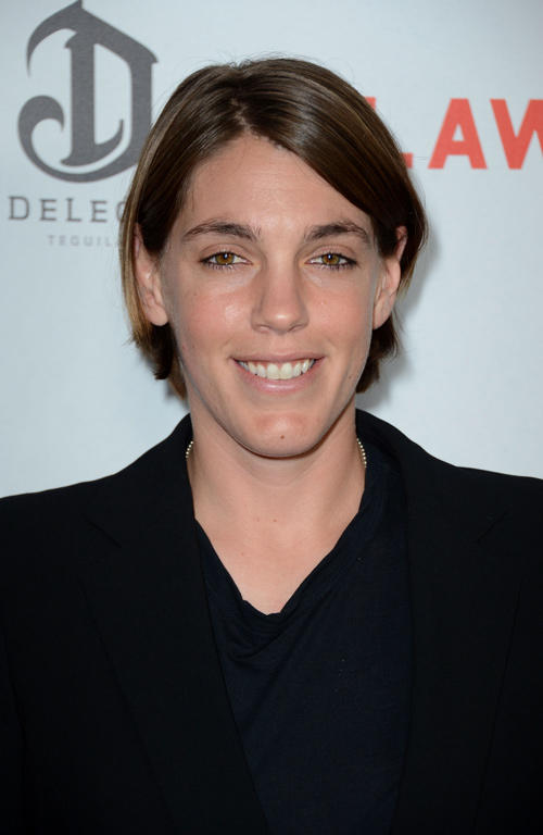 Producer Megan Ellison at the California premiere of