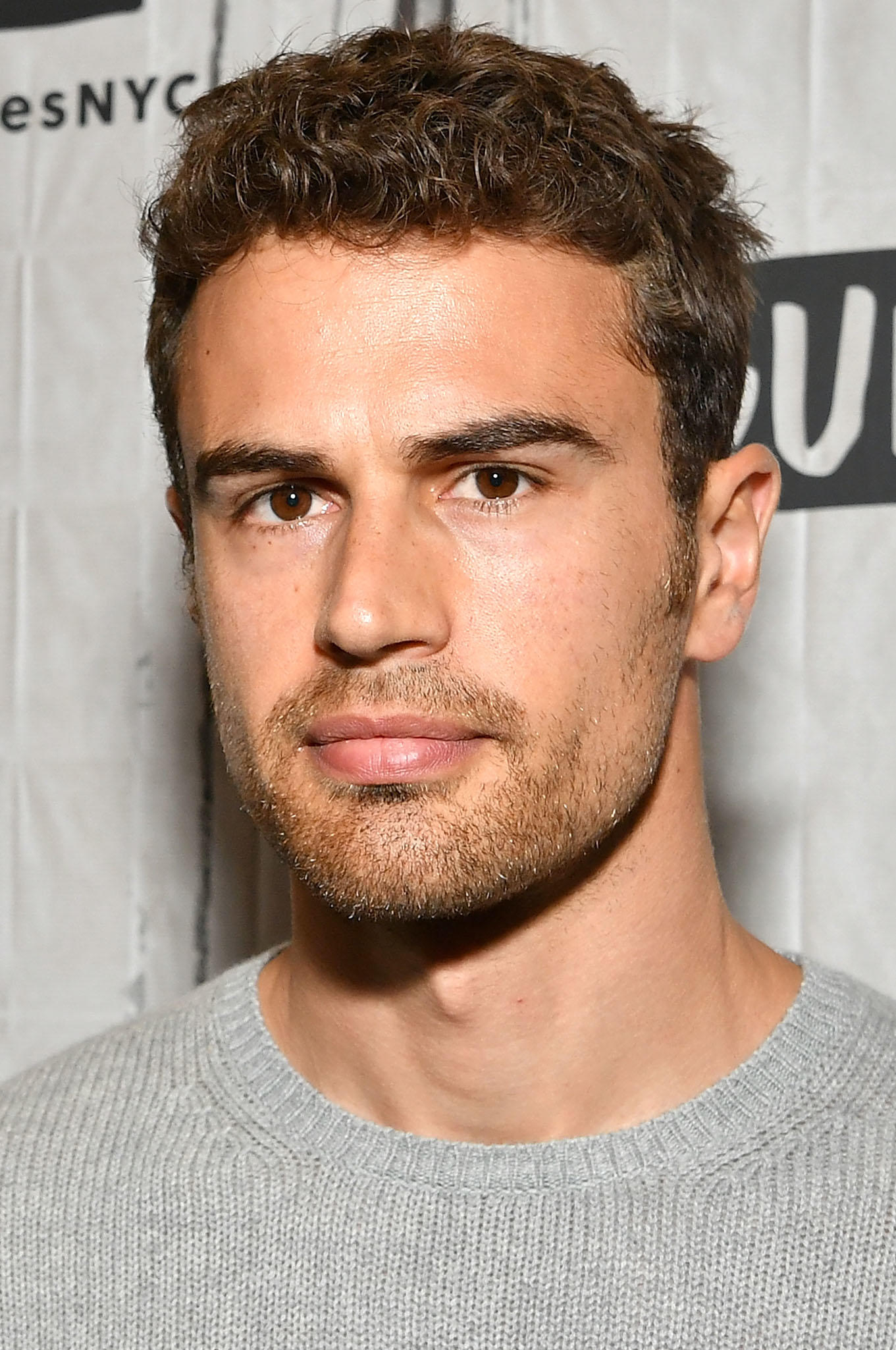 Theo James at Build Studio in New York City.