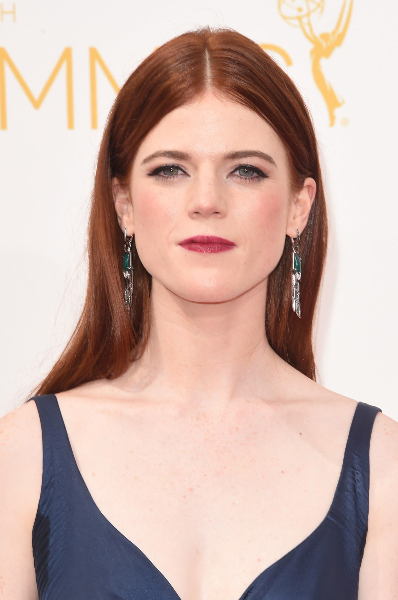 Rose Leslie at the 66th Annual Primetime Emmy Awards.
