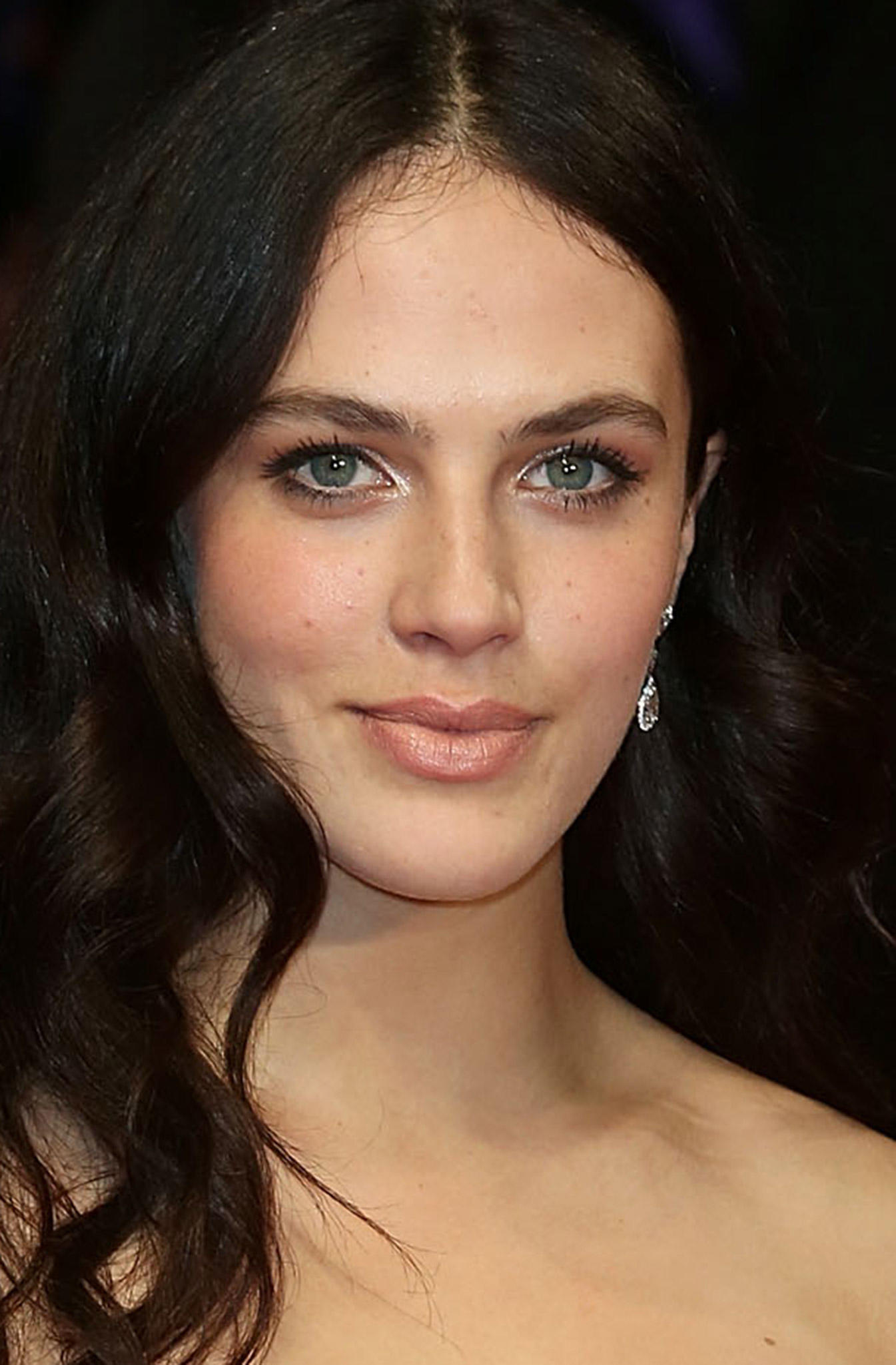 Jessica Brown Findlay at the premiere of