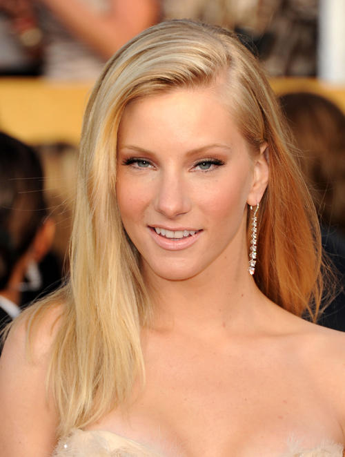 Heather Morris at the 17th Annual Screen Actors Guild Awards in California.