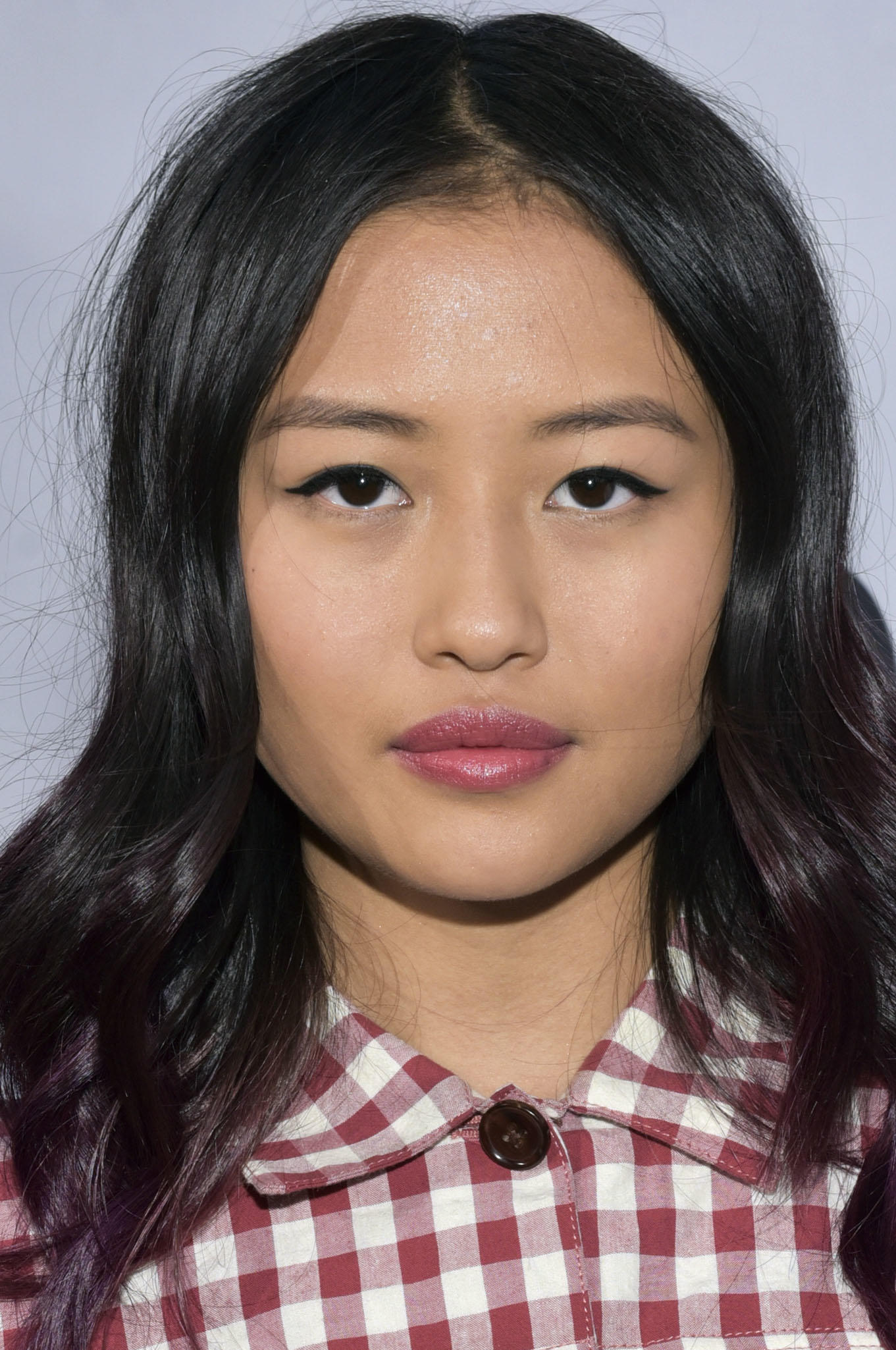 Haley Tju at the premiere of