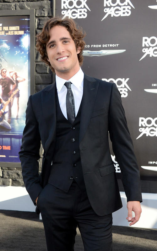 Diego Boneta at the California premiere of