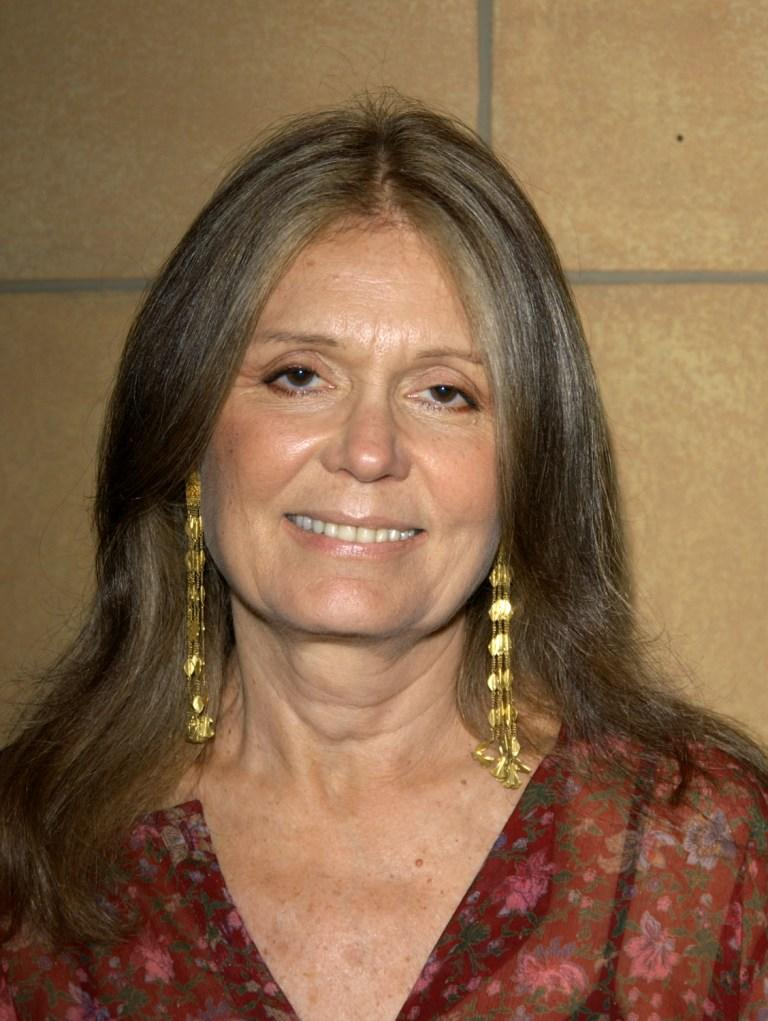 Gloria Steinem at the screening of
