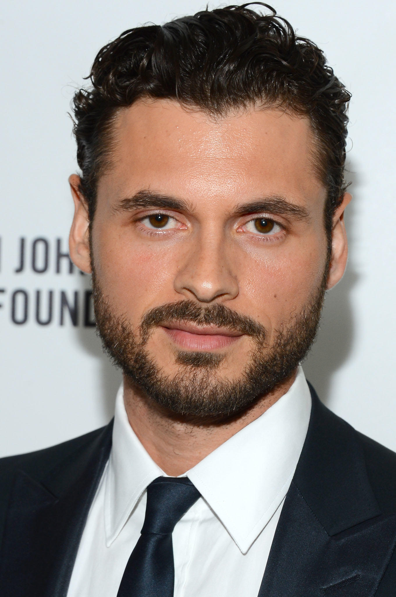 Adan Canto at the 22nd Annual Elton John AIDS Foundation's Oscar Viewing Party in Los Angeles.