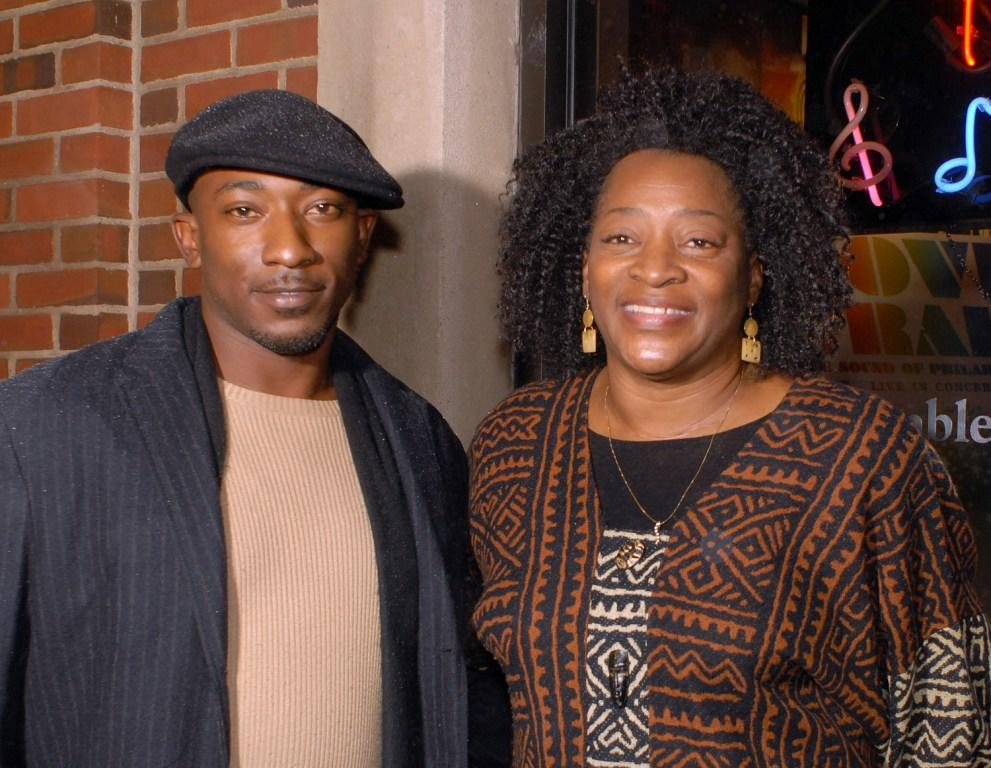 Thomas H. Stewart and Tonea Stewart at the after party of the premiere of