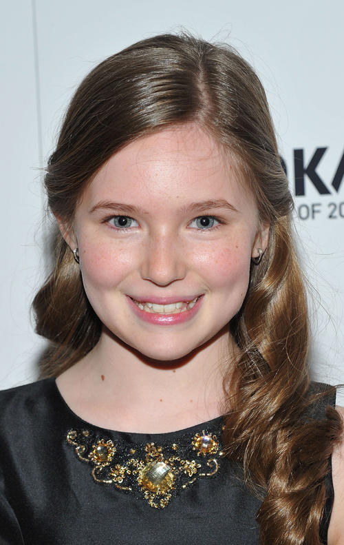 Haley Murphy at the New York premiere of