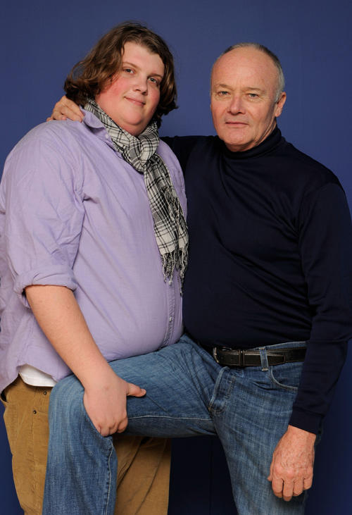 Jacob Wysocki and Creed Bratton at the photocall of
