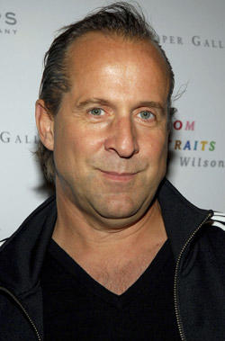 Peter Stormare at VOOM HD Networks' VOOM Portraits Robert Wilson at Phillips de Pury & Company in N.Y.