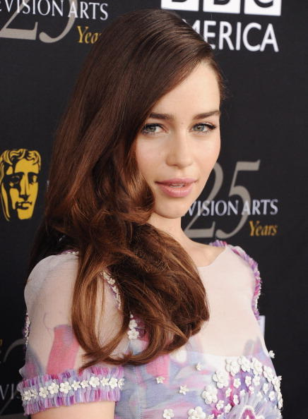 Emilia Clarke at the BAFTA Los Angeles TV Tea 2012.