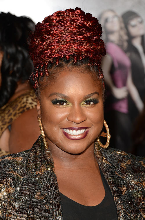 Ester Dean at the Los Angeles premiere of