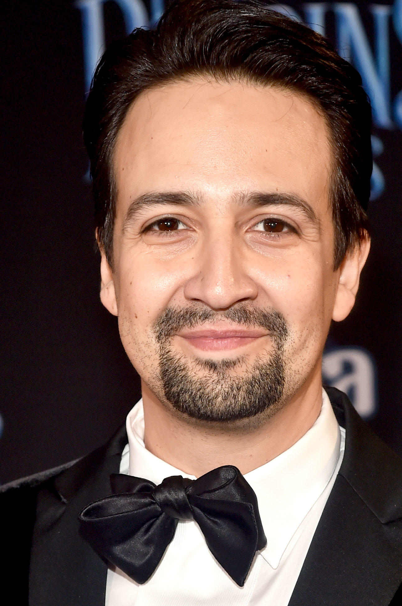 Lin-Manuel Miranda at the premiere of