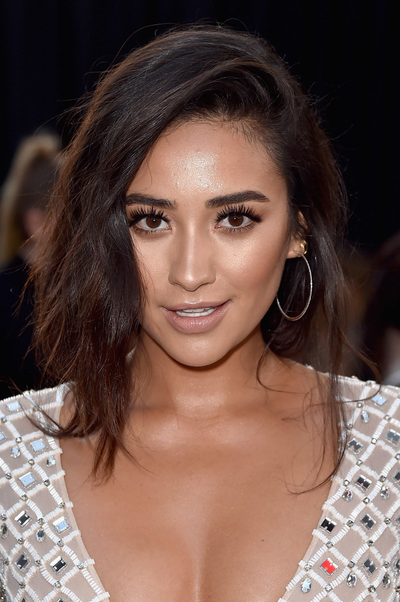 Shay Mitchell at the Open Roads World Premiere of 'Mother's Day' at TCL Chinese Theatre IMAX in Hollywood, California.