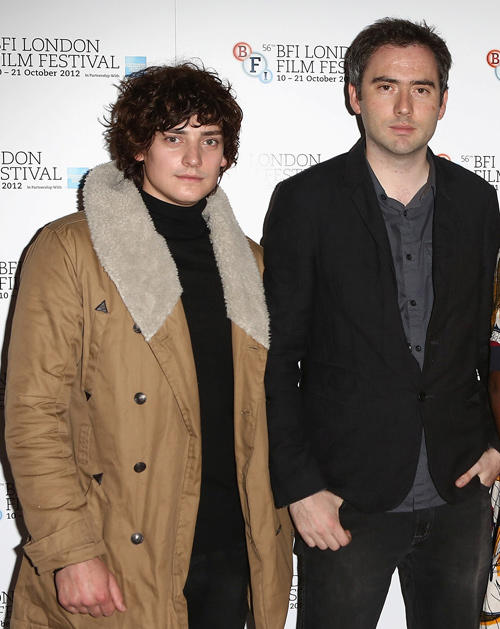 Aneurin Barnard and director Ciaran Foy at the premiere of