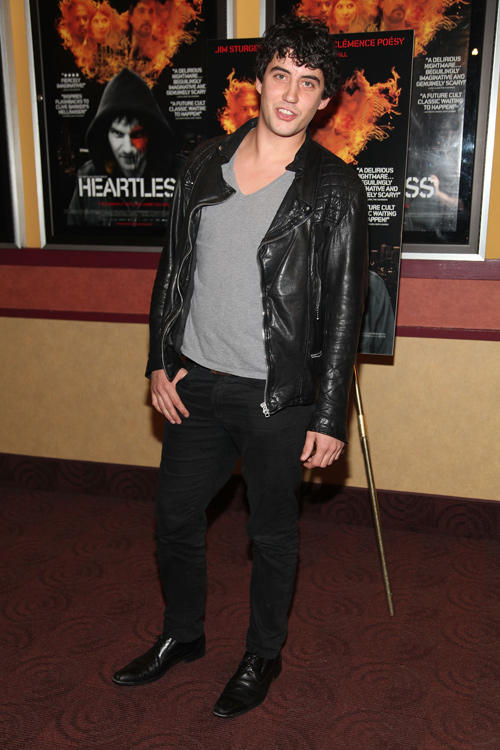 Jack Gordon at the New York premiere of