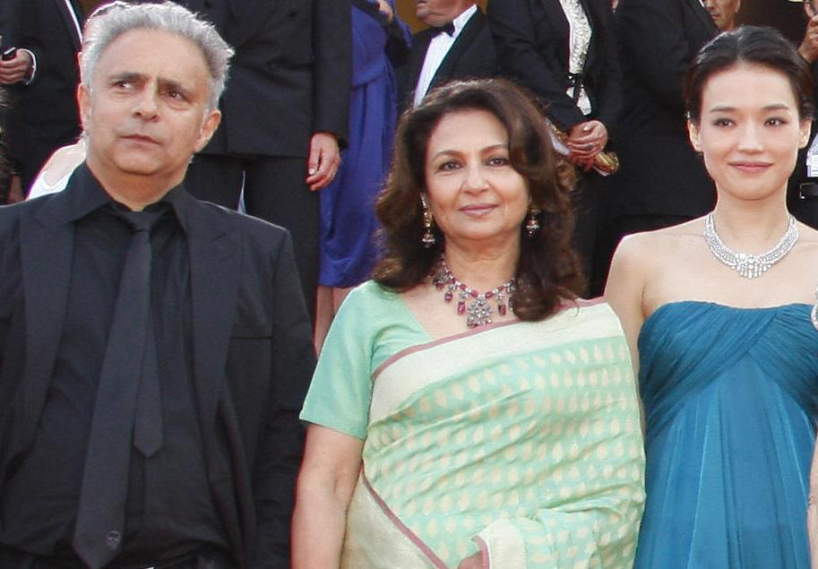 Hanif Kureishi, Sharmila Tagore and Shu Qi at the Opening Ceremony and screening of