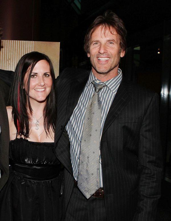 Mary Pat Bentel and Hart Bochner at the premiere of