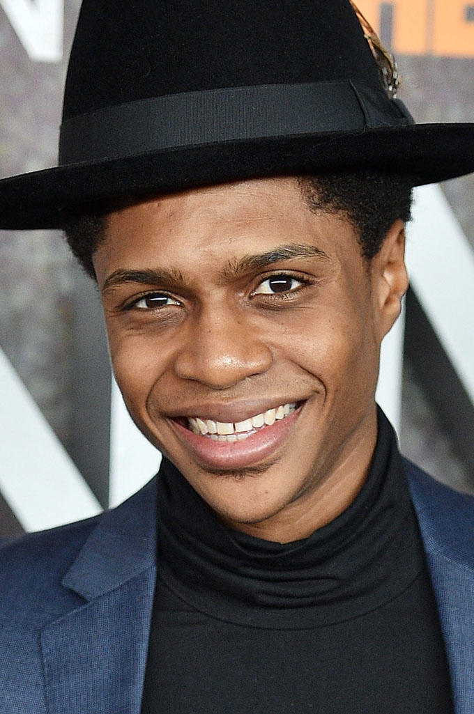 Ephraim Sykes at the New York premiere of