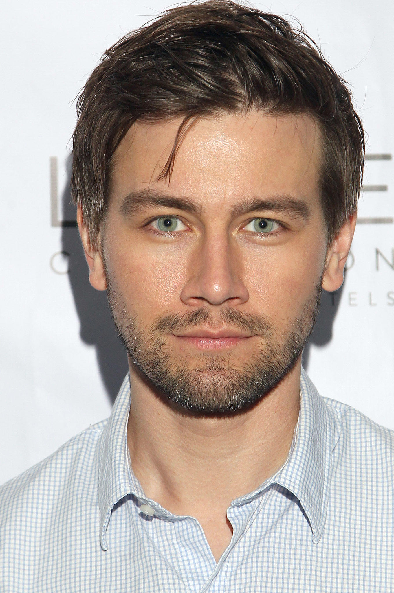 Torrance Coombs at Natalie Zfat's Los Angeles Summer Dinner Party.