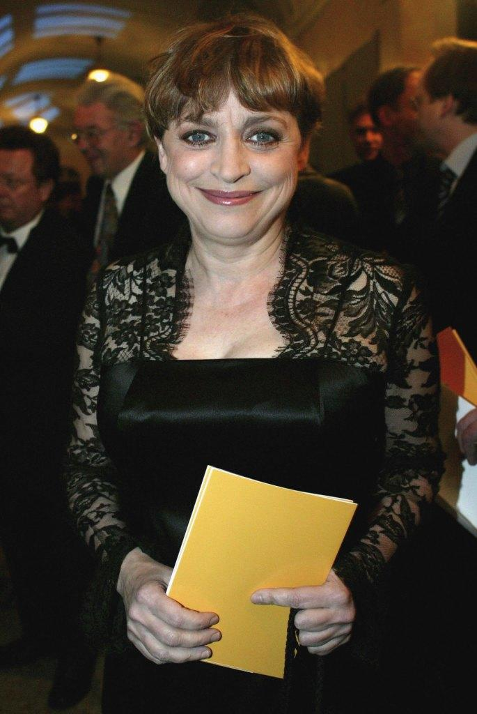Katharina Thalbach at the Bavarian Film Awards 2006.