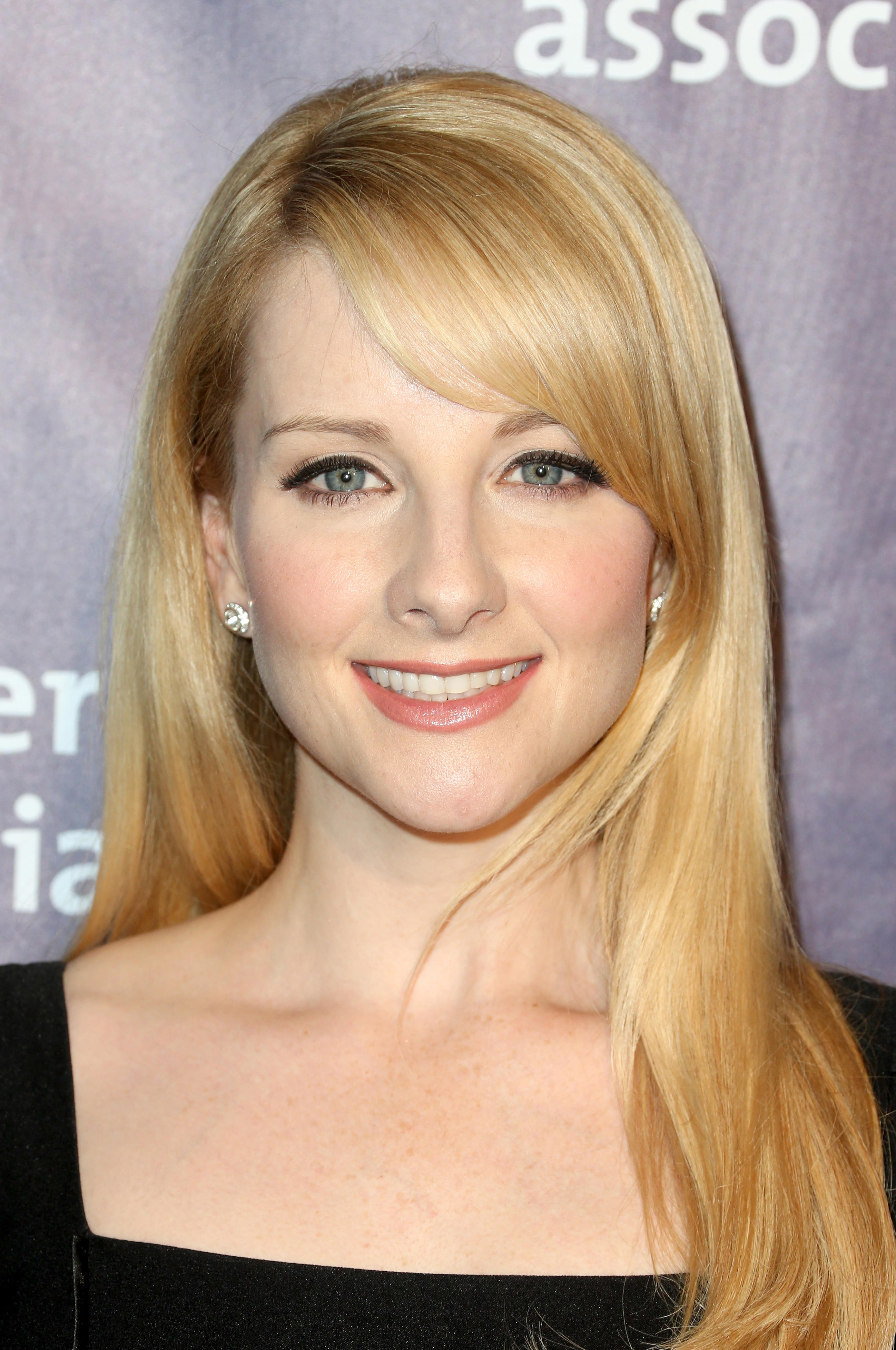 Melissa Rauch at the 24th and final 'A Night at Sardi's' to benefit the Alzheimer's Association at The Beverly Hilton Hotel.