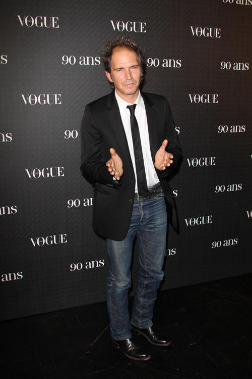 Christopher Thompson at the Vogue 90th Anniversary Party.