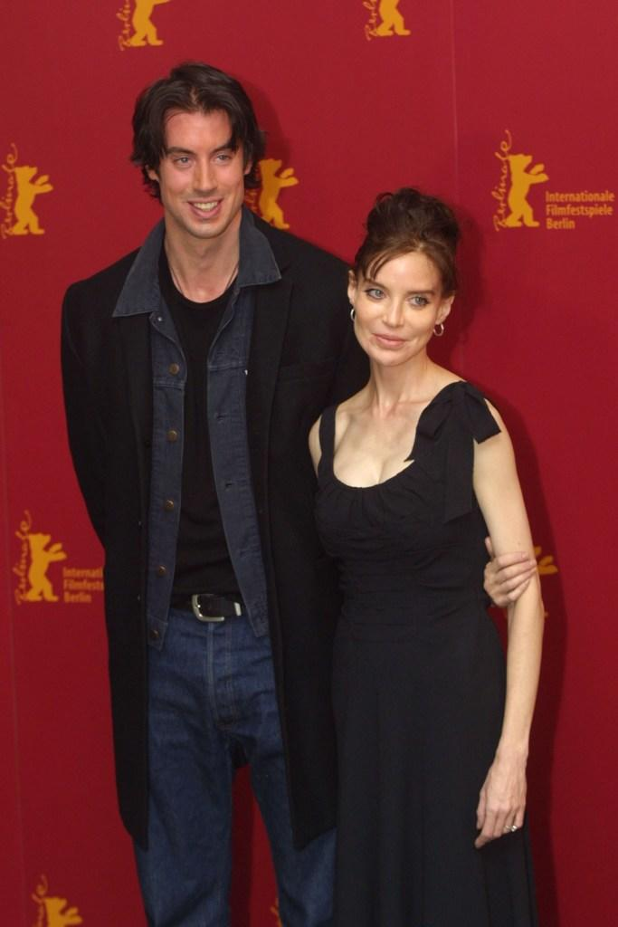 David Wike and Anna Thomson at the Berlinale Film Festival.