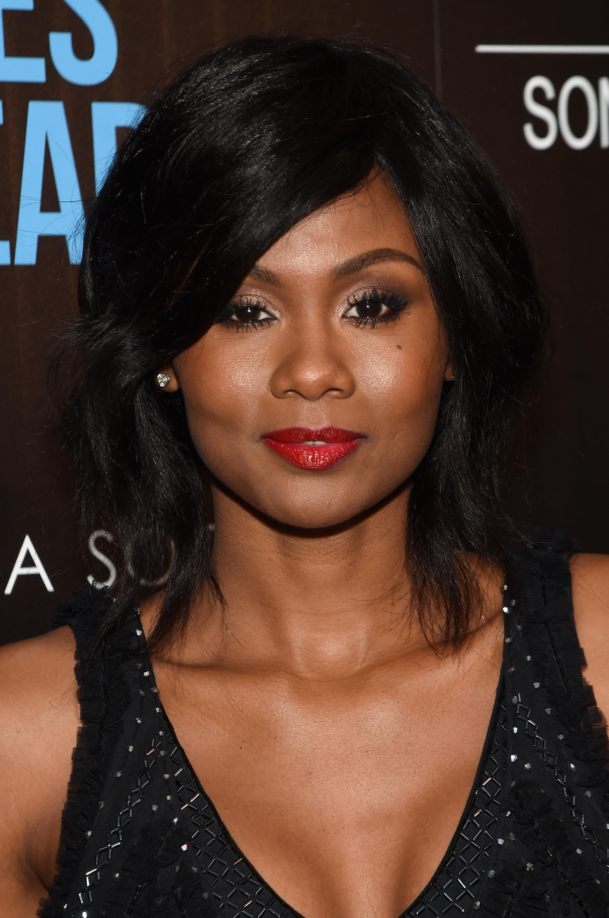 Emayatzy Corinealdi at the screening of Sony Pictures Classics' 'Miles Ahead'.