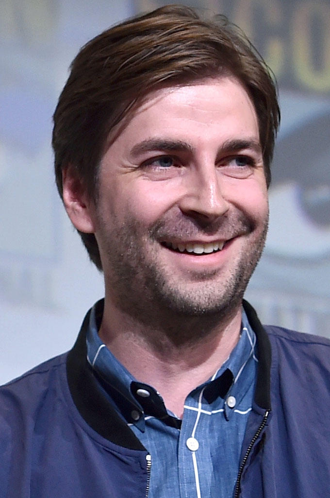 Jon Watts at the Marvel Panel during San Diego Comic-Con International 2016.