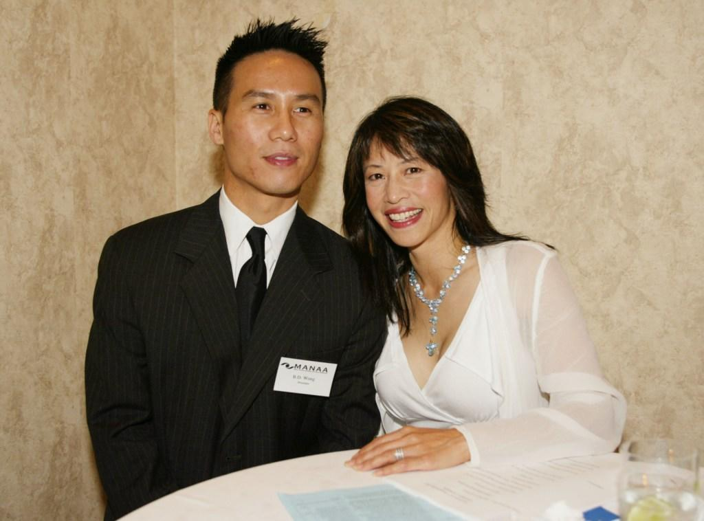 BD Wong and Lauren Tom at the 10th Anniversary Awards Gala for MANAA.