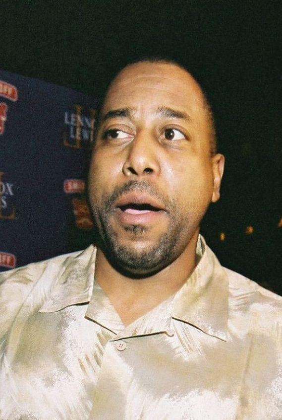 Tone-Loc at the Smirnoff Ice Lennox Lewis after match party.