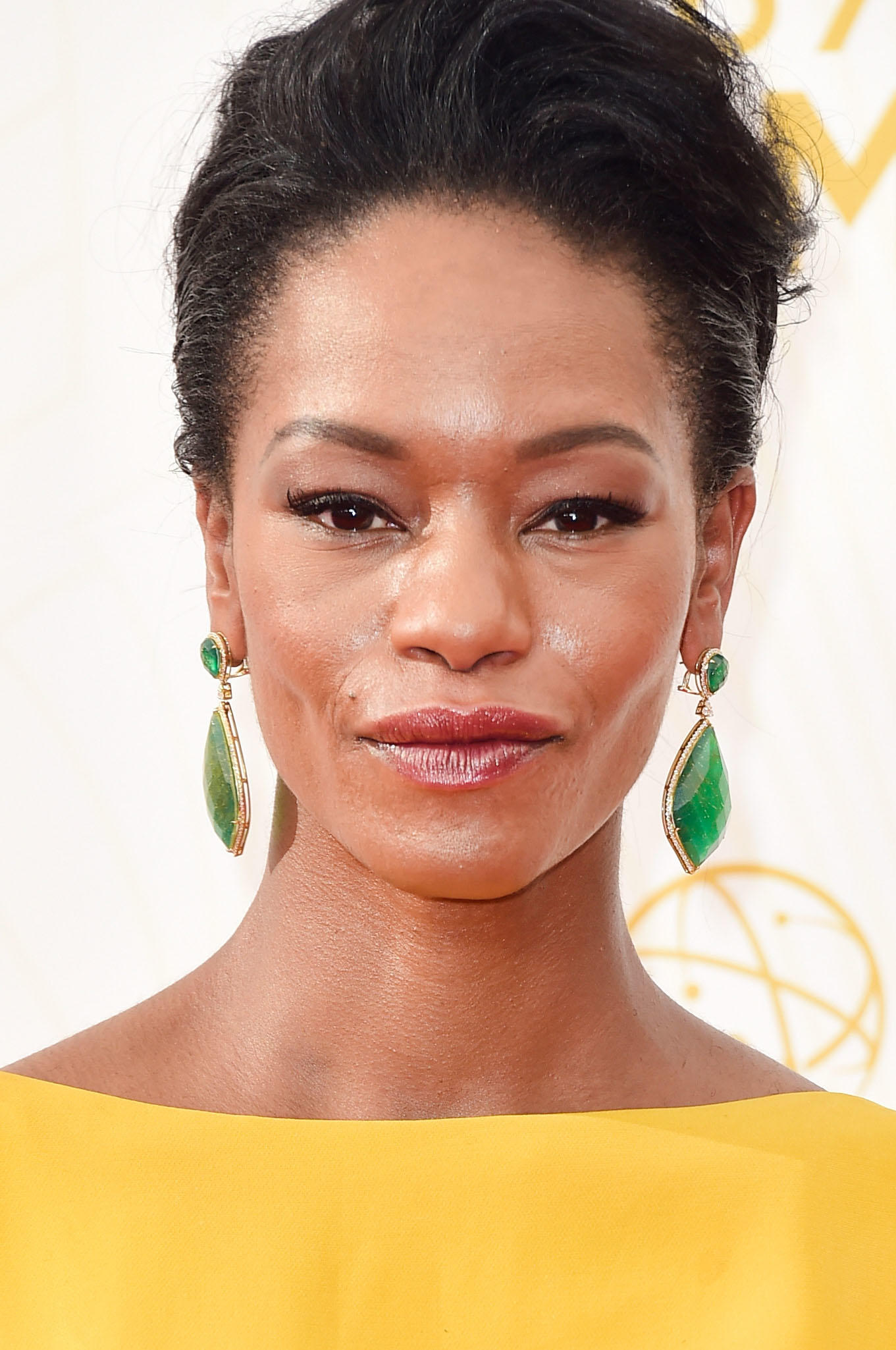 Sufe Bradshaw at the 67th Annual Primetime Emmy Awards in Los Angeles.