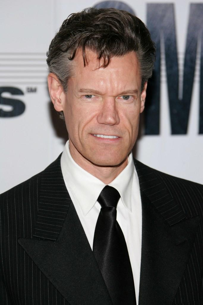 Randy Travis at the 41st Annual CMA Awards.