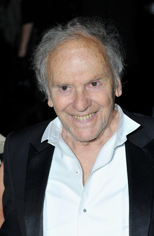Jean-Louis Trintignant at the Winners Dinner during the 65th Annual Cannes Film Festival.