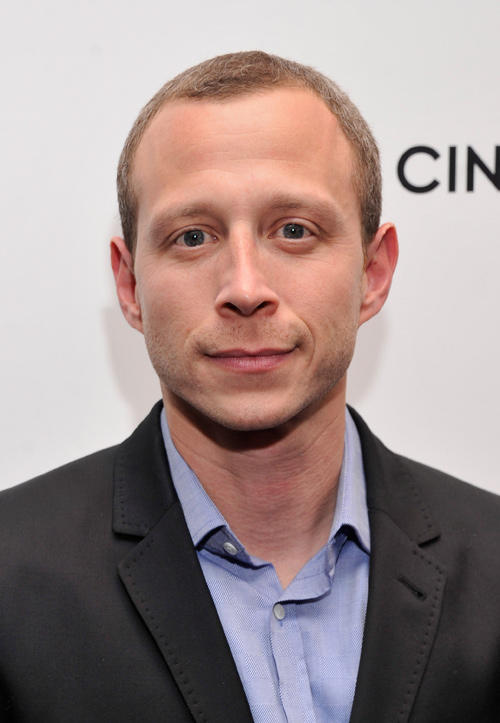 Micah Hauptman at the New York premiere of
