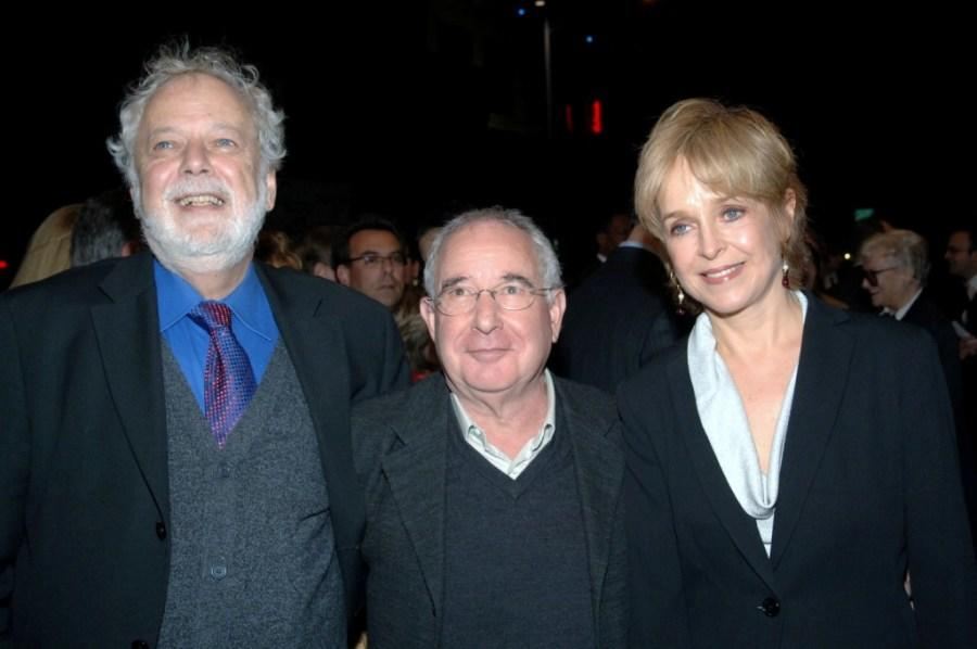 John Tillinger, Michael Tucker and Jill Eikenberry at the opening of