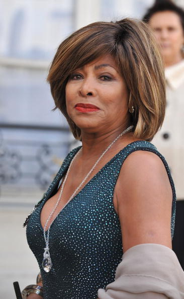 Tina Turner at the Legion D'Honneur Awards.